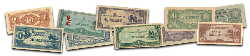 Oceania Japanese Invasion Currency
