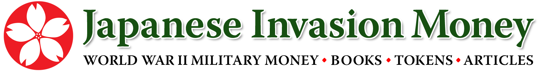 Japanese Invasion Money website logo